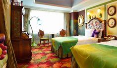 Tinker Bell Room, Disneyland Hotel, Hotels Disney, Beauty Blender Dupe, Disney Dream, Disney Magic, Tokyo Disney Resort, Beauty Room, Room Themes