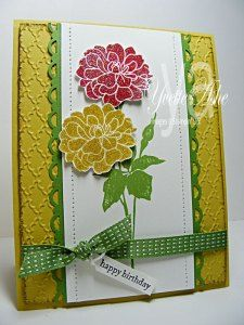 Fabulous Florets Birthday - Stampin' Up!