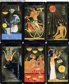 Nefertari's Tarots - Designer(s), Artist(s): Silvana Alasia.   Country of Publication: Italy.   Number of Cards: 78.   Publication Year: 1999.   Publication Status: In Print.  http://www.tarotgarden.com/