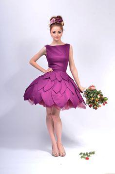 Gina 5 knee Dress por LauraGalic en Etsy