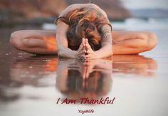 Gratitude Yoga-Pose