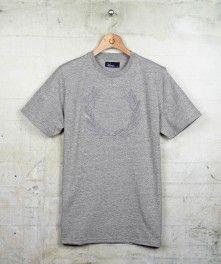 Felt Applique Laurel Wreath T-Shirt AW12