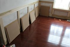 How to make your own Raised Panel Molding  #wainscoting, AccentHaus.com