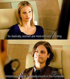 Criminal Minds - let that just sink in for a minute. Criminal Minds Memes, Spencer Reid Criminal Minds, Dr Spencer Reid, Criminal Minds Season 2, Behavioral Analysis Unit, Crimal Minds, Penelope Garcia, Derek Morgan, Matthew Gray Gubler