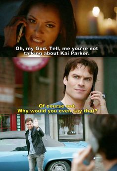 The Vampire Diaries TVD S08E13 - Damon & Bonnie