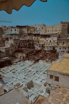 Fes, Morocco Tanneries