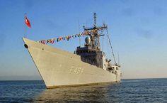 Karavanas The Blog: Συνωστισμός πολεμικών σκαφών ανοικτά της Κύπρου