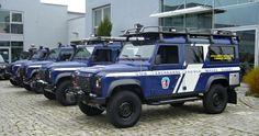 Land Rover Defender, předávání Horská Služba, autosalon Dajbych