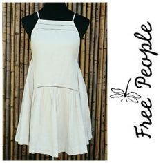 Free People Dress NWT Free People Dress in Ivory, super cute Bohemian! NWT    Sorry, no offers this is my final price. ✔Poshmark Compliant Closet No Trades  No Outside Transactions   Thank you for stopping by!           Happy Poshing! Free People Dresses Mini