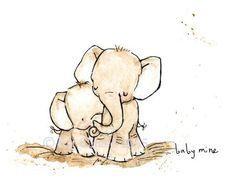 baby mine elephant