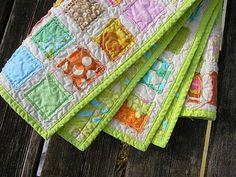 raw edge charm pack quilt