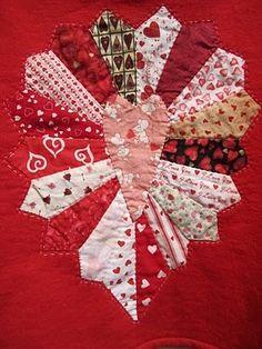 valentine's day quilt