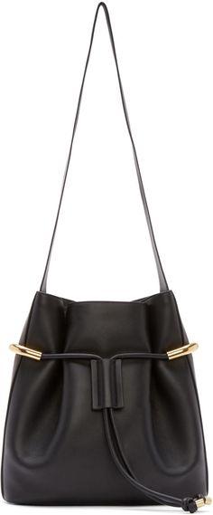 ACCESSORIES REFRESH // Chloé Black Leather Medium Emma Bag #COOLS