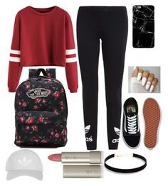 """""""Untitled #114"""" by maniakozlowska on Polyvore featuring adidas Originals, Vans, Topshop, Ilia and LULUS"""