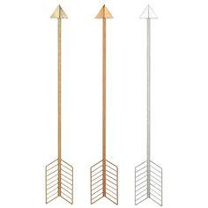 Metallic Arrows Set of 3 @Zinc_Door