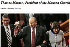 On the New York Times Obituary for President Monson
