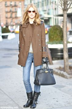 Hermes handbag #stylespotting #streetstyle