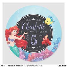Disney Little Mermaids, Ariel The Little Mermaid, Birthday Plate, Girl Birthday, Birthday Gifts, Birthday Banners, Birthday Party Decorations, Birthday Parties, Chalkboard Paper