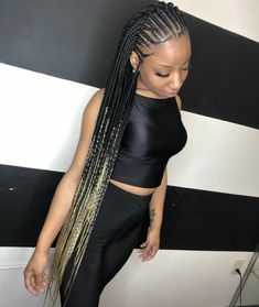 56 Dope Box Braids Hairstyles to Try - Hairstyles Trends Black Girl Braids, Braids For Black Hair, Girls Braids, Girl Short Hair, Easy Updo Hairstyles, African Braids Hairstyles, My Hairstyle, Hairstyles Videos, Conrows Hairstyles