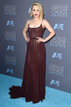 #CriticsChoiceAwards #RedCarpet Rachel McAdams wore an Elie Saab gown with Graziela Gems jewels.