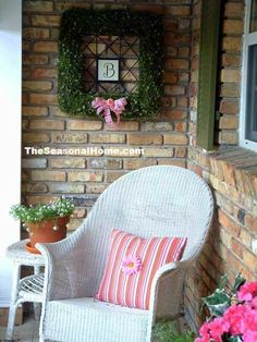 Front Porches Decorated for Spring | spring porch decorating ideas | Spring Decoration Ideas | Spring ...