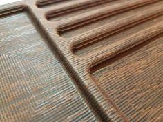 Prototyp für ein Inlay für unseren Office-Desk. CNC-Gefrästes Holz (Massivholz Wenge). Ablage von Stiften, Visitenkarten und Handys. Für mehr Ordnung auf dem Schreibtisch. #officedesk #schreibtisch #wood #ordnung #desk #furniture #addon #cnc #wenge