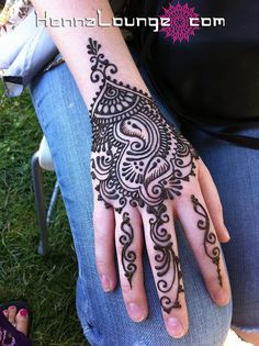 Henna or Mehndi for Pakistani or Indian weddings to adorn the brides hands  feet with beautiful symbolic designs.