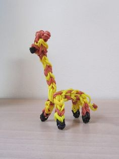 GIRAFFE by Kelly Miller? Rainbow Loom.