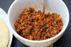 homemade vegan chorizo