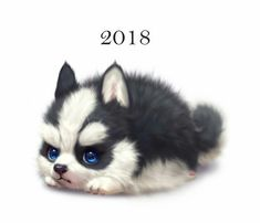 trendy ideas for funny anime pics pets Cute Puppies, Cute Dogs, Cute Babies, Cute Cartoon Animals, Cute Little Animals, Cute Animal Drawings, Cute Drawings, Dog Drawings, Cute Creatures