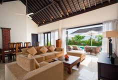 Villa Alamanda Open Plan Living Area I Nusa Dua, Bali