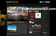 Wordpress Themes - Car News Wordpress Theme #wordpress #car #wordpressthemes
