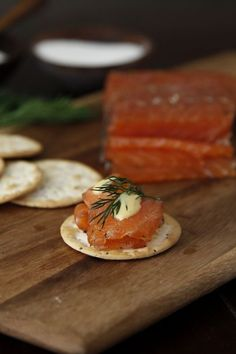 6 Salmon Appetizers for New Year's Eve! I love Salmon !