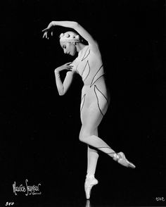 Alicia Markova in Ballet Russe Production 'Rouge Et Noir' at Monte Carlo