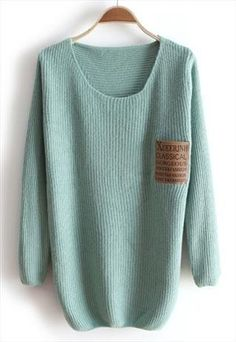 Robin egg blue sweater
