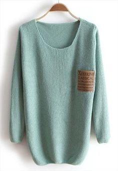 Robin egg blue sweater