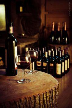 the wine cellar*