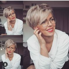 Today we have the most stylish 86 Cute Short Pixie Haircuts. Pixie haircut, of course, offers a lot of options for the hair of the ladies'… Continue Reading → Short Pixie Haircuts, Pixie Hairstyles, Straight Hairstyles, Short Haircut, Cute Hairstyles For Medium Hair, Blonde Haircuts, Hairstyles 2018, Party Hairstyles, Short Hair Cuts For Women