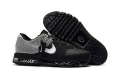 Hottest Nike Air Max 2017 Gray Black Sports Shoes Outlet UK - $69.88