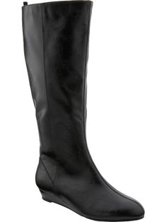 Tsubo Baco Boots. The perfect minimalist black boots. Sleek & chic!