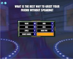 A game of Friendly Family Feud. Xmas Games, Holiday Party Games, Adult Party Games, Christmas Games, Christmas Activities, Christmas Ideas, Easter Games, Christmas Family Fued, A Christmas Story