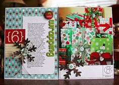 December Daily - I want to make a December Daily journal ... so pretty and fun looking