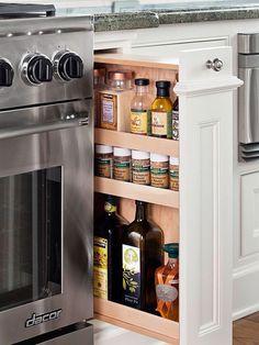Kitchen - organitation