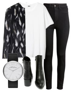 """Untitled #5095"" by laurenmboot ❤ liked on Polyvore featuring H&M, Topshop, Very Volatile, Marc by Marc Jacobs, Khai Khai, women's clothing, women's fashion, women, female and woman"