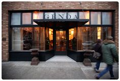 industrial canopy storefront signage - Google Search