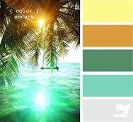 Color palette for patio