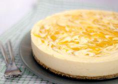 Mango & White Chocolate Cheesecake