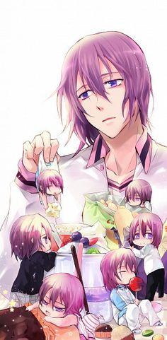 Murasakibara Atsushi | Kuroko no Basuke | ♤ Anime ♤