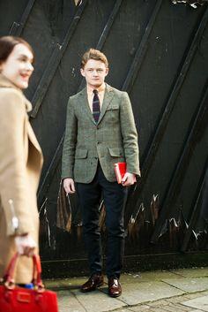 WIMIRY: London fashion week, 2014 F/W Gentleman league.