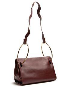 ROKSANDA.  Ring-handle leather tote